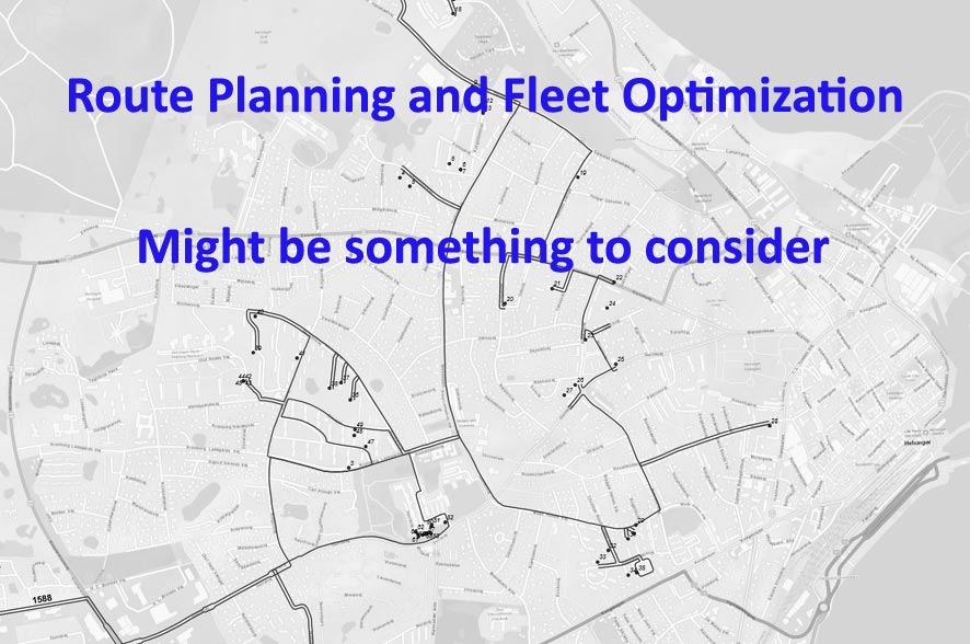 cost cutting with route planning