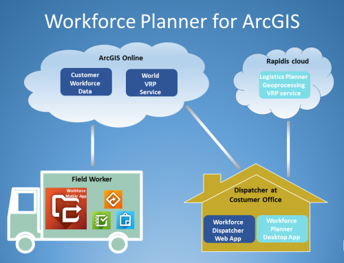 New Workforce Planner App for ArcGIS