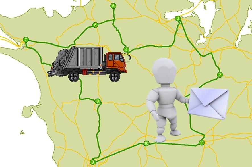 Ruteplanlægning for ArcGIS