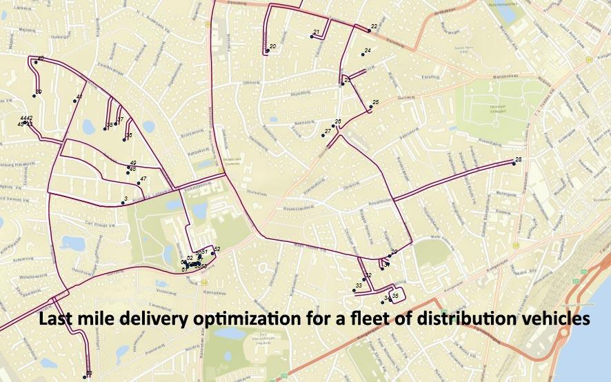Last Mile Route Planning